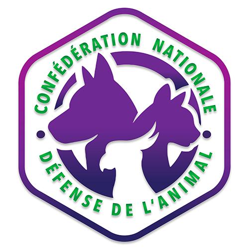 Logo confédération nationale défense de l'animal
